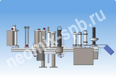 Автоматический аппликатор  этикеток Neomix LabelPro 4020  Высота этикетки до 200 мм