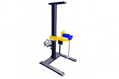Стационарная мешалка для куба с мотор-редуктором